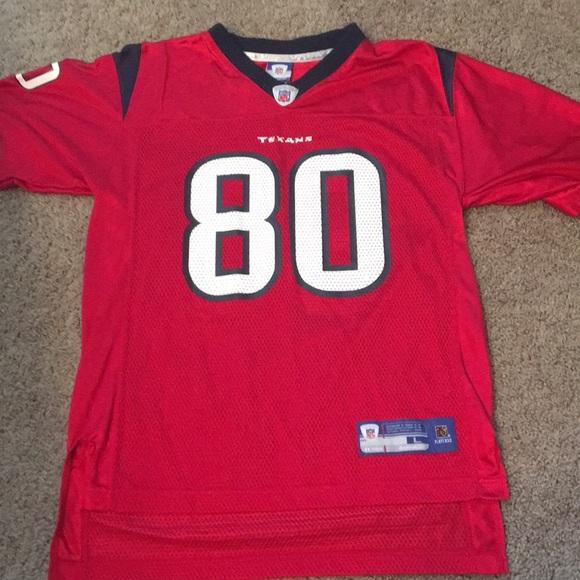 online store eb8db e7b7c Houston Texans youth lge Johnson football jersey